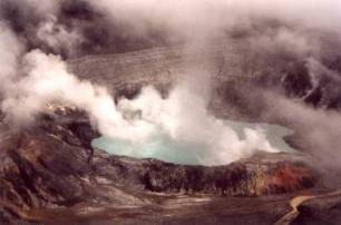 Costa Rica volcano and watersupply. Image by Information for Action, a website for conservation and environmental issues offering solutions