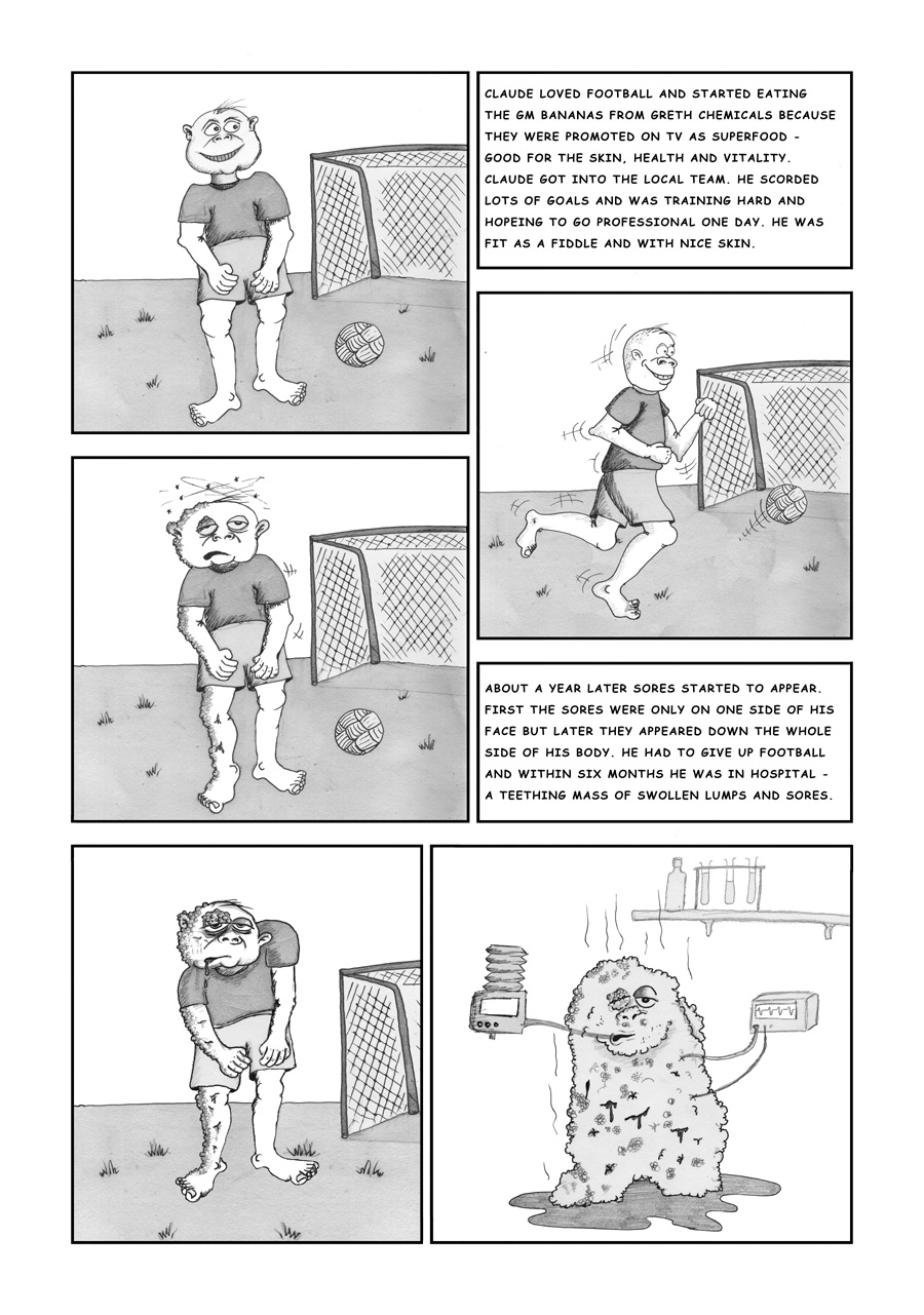 Eco Freako Comic